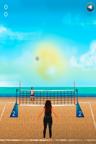Screenshot Addictive Beach Volleyball