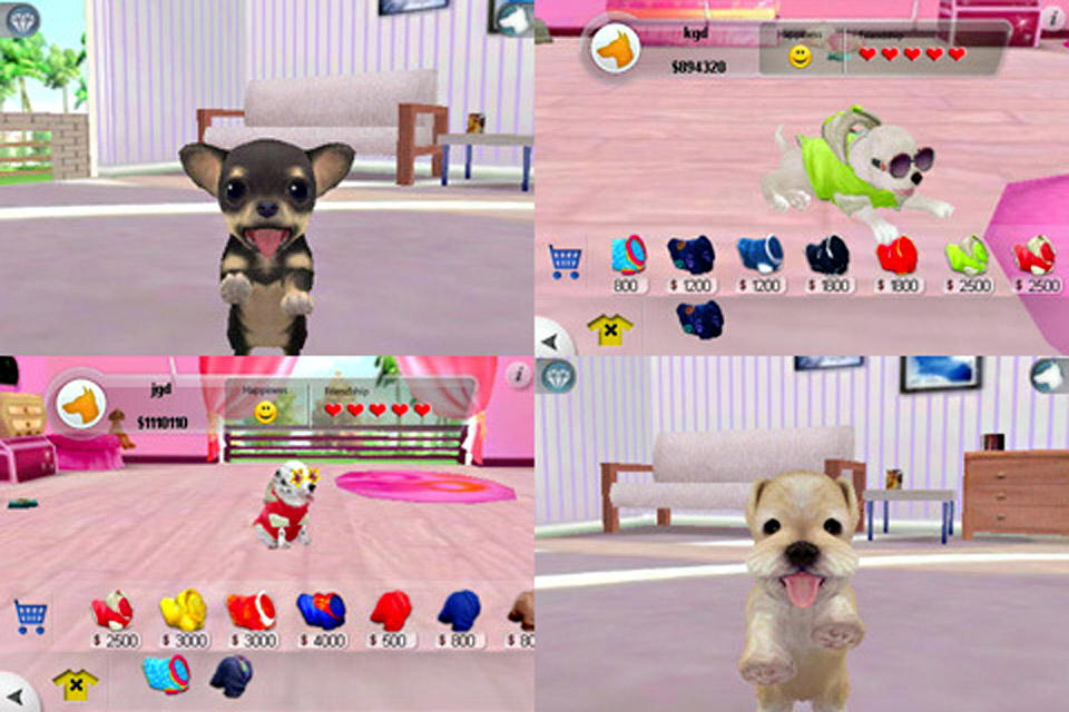 Screenshot iPuppy World