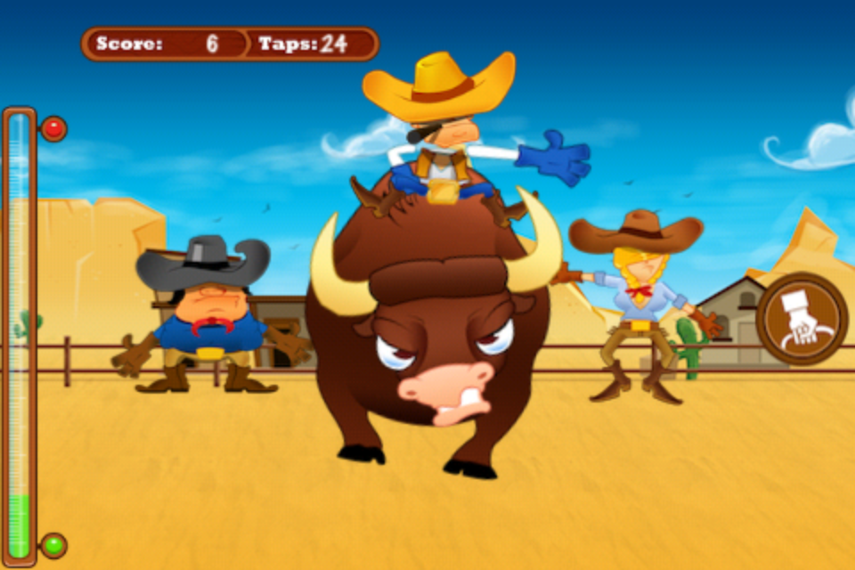 Screenshot Angry Cowboys Mobile Lite